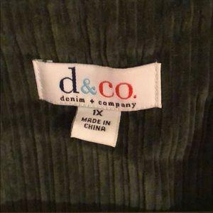 Denim&Co Jackets & Coats - Olive Jacket